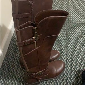 Guess Leather Riding Boot